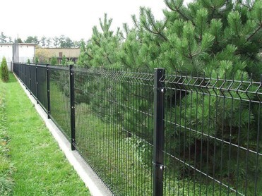 Garden Fencing Garden Fencing Structure: Shaped By Hydraulic Pressure With  Welded High Strengthed Cool Drawn Low Carbon Steel Wire And Fixed With  Joint ...
